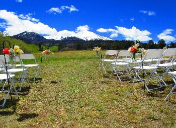 Rustic Mountain Wedding Venue for Rent!