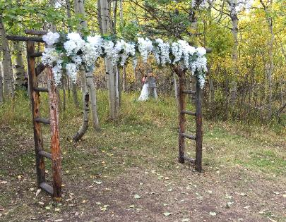 Fall Weddings ~ Aspen Grove Ceremony ~ the Historic Pines Ranch, Westcliffe, CO