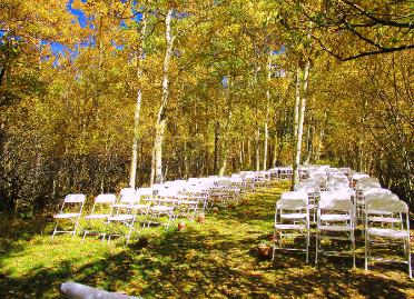 A Beautiful Colorado Fall Wedding Venue ~ The Historic Pines Ranch