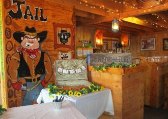 Rustic Western Style Wedding Saloon and Bar!