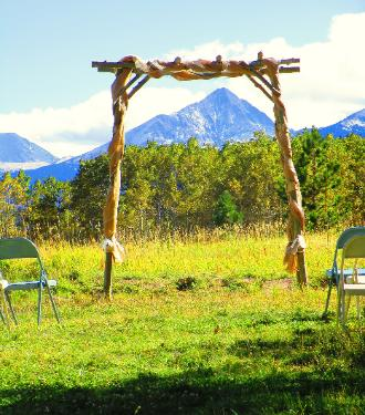 Rustic Mountain Weddings at the Historic Pines Ranch!