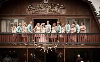 Rent our Ranch for Your Rustic Wedding Celebration! The Sun Dance Saloon and Dance Hall
