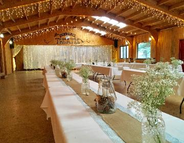 Rustic Wedding Reception at the Historic Pines Ranch