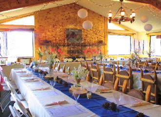 Beautiful Rustic Wedding Receptions at the Historic Pines Ranch