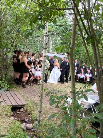 Romantic Aspen Grove Mountain Wedding 2018 the Historic Pines Ranch!