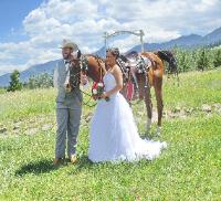 Western Mountain Weddings ~ The Historic Pines Ranch