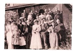 The first Wedding at the Historic Pines Ranch ~ Held in 1889!