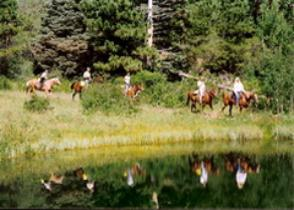 Riding and outdoor activities ~ The Historic Pines Ranch, Westcliffe Colorado