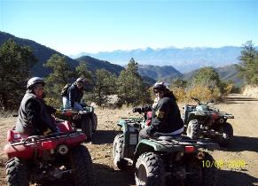 Explore the Mountains from ATV!